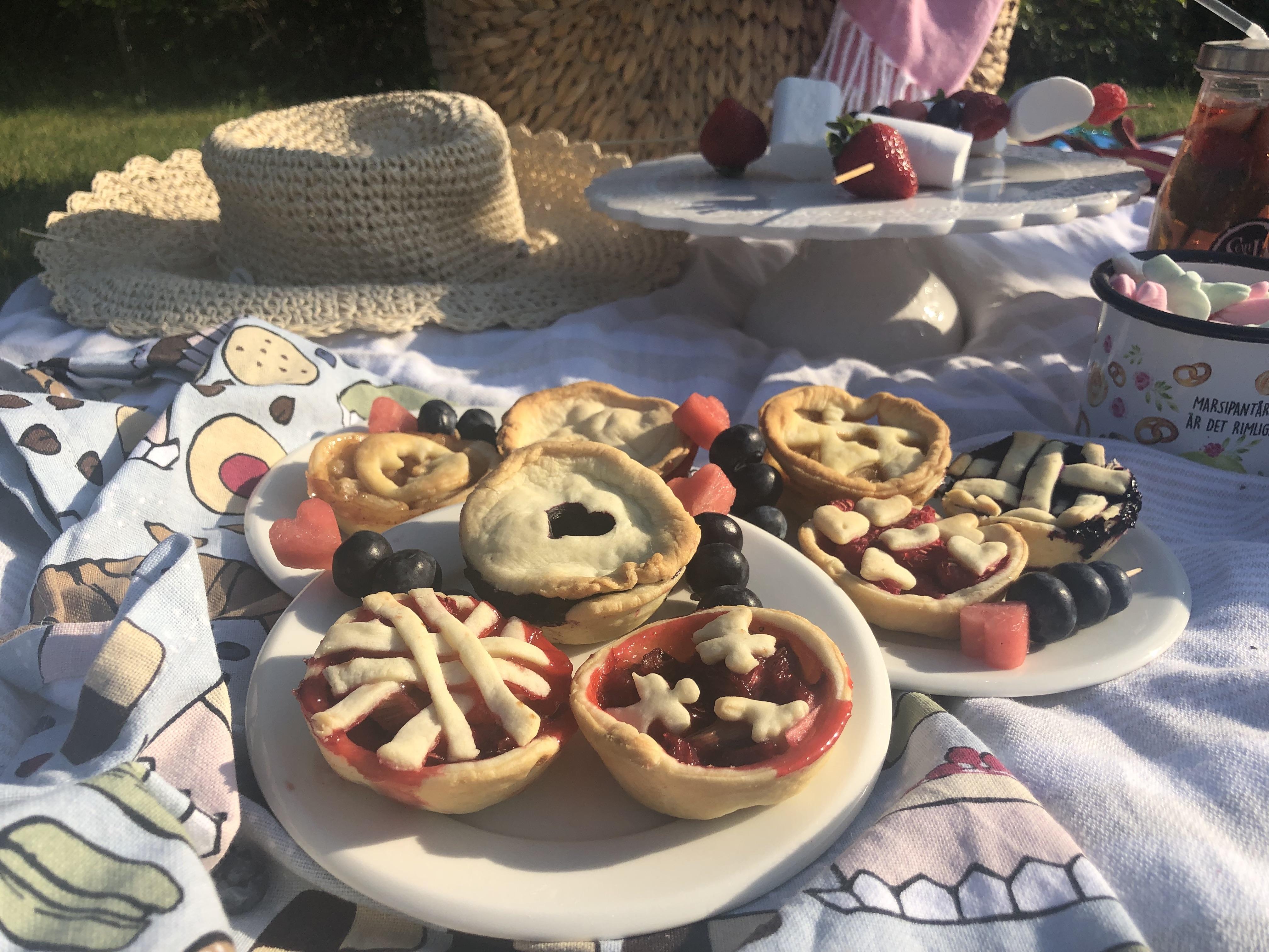 Portionspajer – perfekt på picknick – i samarbete med Våningen & Villan Nyköping
