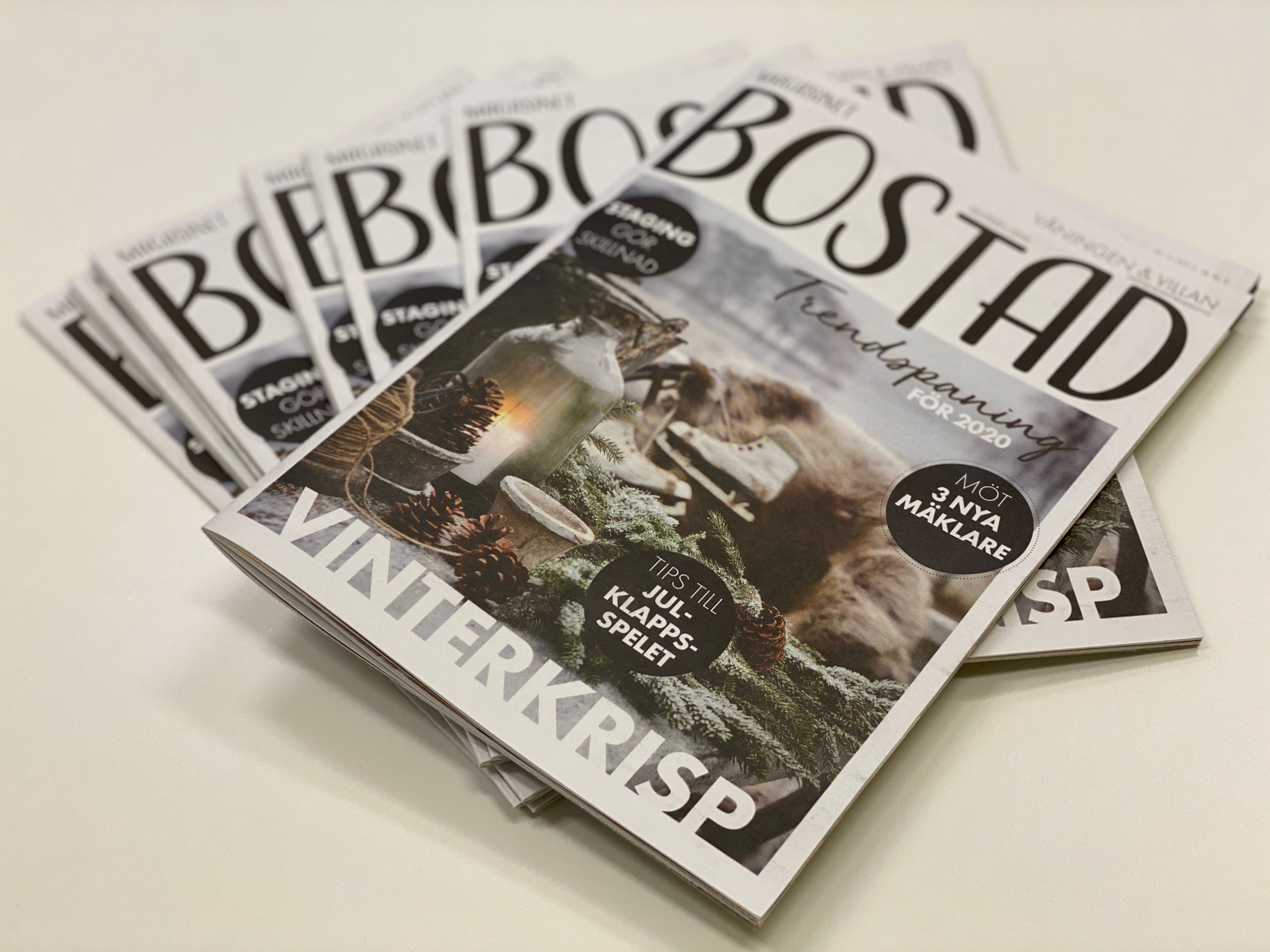 Fint reportage i Magasinet Bostad